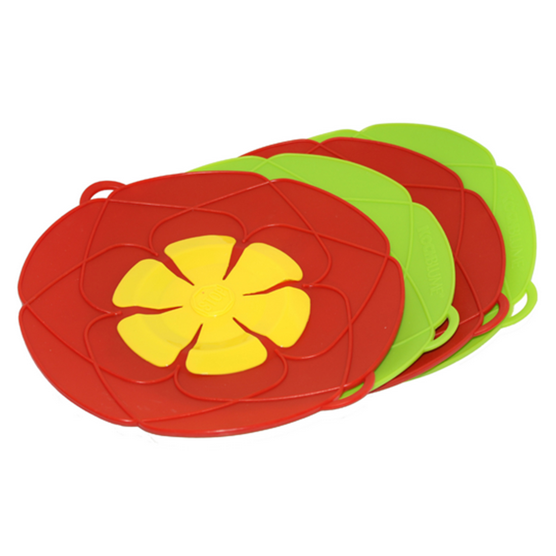 E-SHOW Bloom Kitchen Silicone Pot Anti Overflow Lid Spill Stopper Pan Boil Over Safeguard Cover Caps Against Iron Cooking Tools