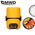 DMWD Multifunktions Elektro Lunch Box 2 Schichten Food Wärmer Mini Reiskocher Timer Lunchbox Intelligente Reiskocher Mahlzeit Dampfer-in Reiskocher aus Haushaltsgeräte bei
