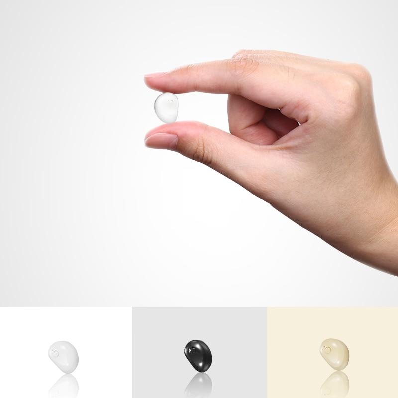 Smarcent Kleinste Mini Bluetooth Kopfhörer Wireless Stereo Ohrhörer Freisprecheinrichtung In Ohr Unsichtbare Kopfhörer Ohr Knospen für Handy