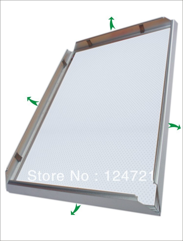 2014 Advertising Store Display LED Light Frame A3 Size Aluminum Snap ...