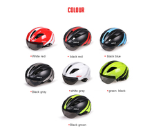 Costelo bike goggle helmet bicycle helmet Carbon Cycle Helmet with goggle Capacete Ciclismo Casco Bicicleta free shipping
