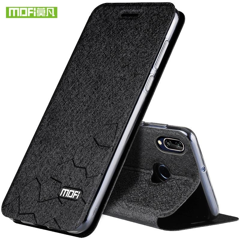For Huawei P20 lite Case Cover P20 Lite case luxury flip leather Mofi for Huawei P20 Lite Case transparent pu capa coques fundas