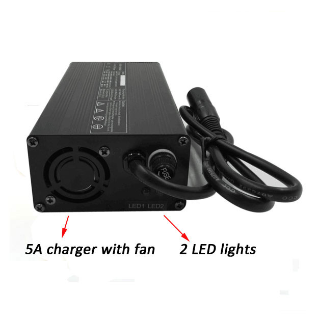 5A charger with fan