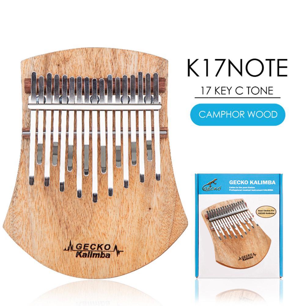 mbira sanza camphorwood percussão teclado instrumento musical k17note k17cas