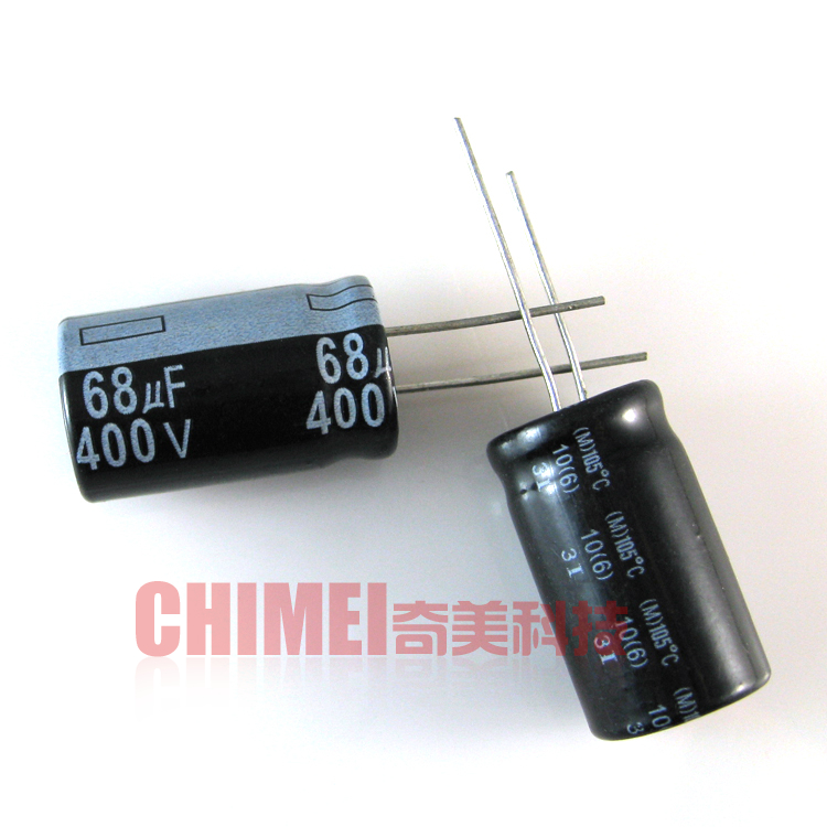 Electrolytic Capacitor 68UF 400V Volume 16X30MM Capacitor 16 * 30 Mm