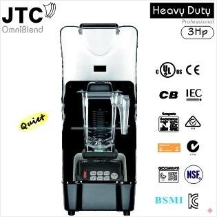 Comercial Blender + Melhor caixa de Som, Modelo: TM-800AQ (Omni-Q), Preto, FRETE GRÁTIS, com 100% de feedback positivo!