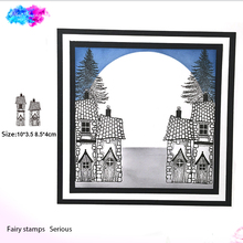 fairy house Stamp Set Clear Rubber Stamps Building Transparent Scrapbooking Card Making Embossing Album Craft cut