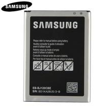 Original auténtico batería EB-BJ120CBU EB-BJ120CBE para Samsung Galaxy  Express 3 J1 2016 SM-J120A SM-J120 SM-J120F NFC 2050 mAh b9b191bfb5d7