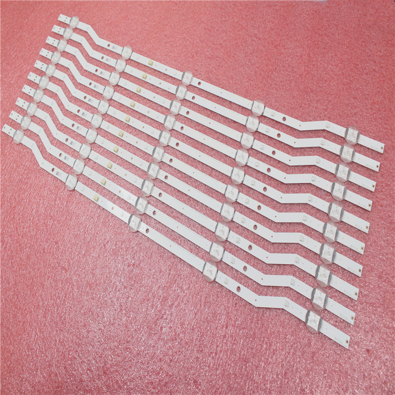 New 5set=10pcs 5LEDs 58CM Strip For Samsung UN32J4000 2015 SVS F-COM 32 HD LM41-00133A 00148A BN96-36232A 36234A V5DN-320SM0-R4