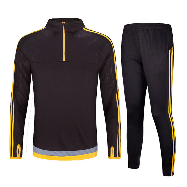 Men Autumn Winter Football Training Suit Adult/Child Long Sleeve Soccer Tracksuit Soccer Set Soccer Tracksuit Soccer Set XXS-3XL tiebao a13135 men tf soccer shoes outdoor lawn unisex soccer boots turf training football boots lace up football shoes