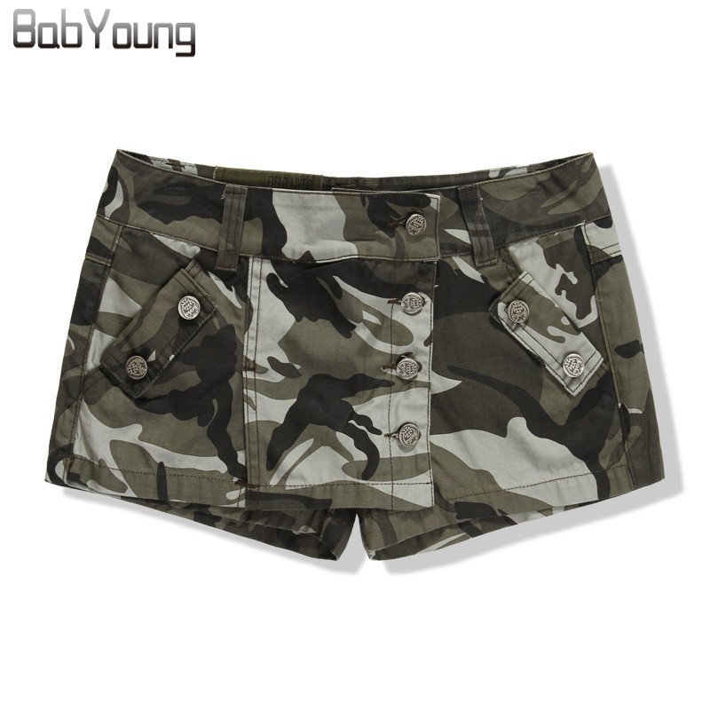 Compare Prices on Army Print Shorts Women- Online Shopping/Buy Low ...