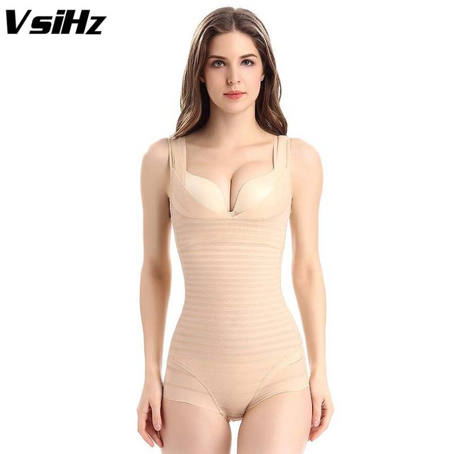 c4e7a280f6 New Women Sexy Slimming Shapewear Underwear Back opening High Elastic  Adjustable Bodysuits Breathable Waist Body Shaper Corsets