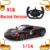 Regalo de Año nuevo 1/14 2.4G RC Velocidad de Deriva Del Coche de Competición Eléctrico Máquina de Rastreo de Vehículos Raza Raza Control Remoto Juguetes al aire libre
