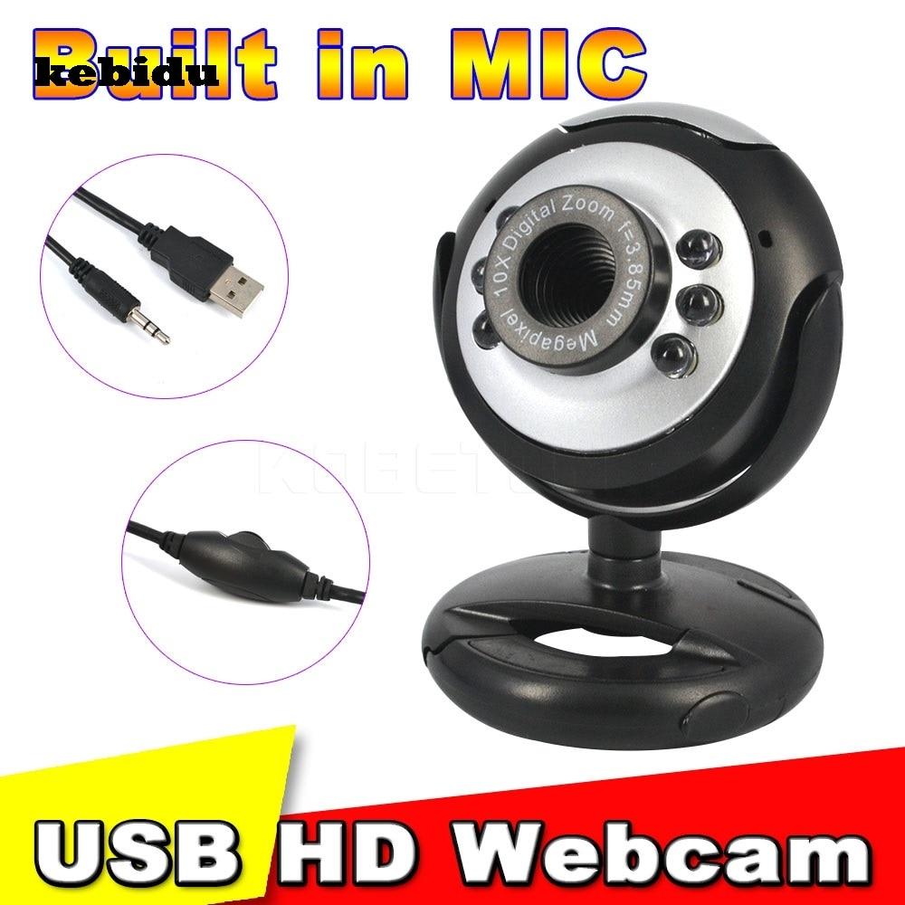 Kebidu Usb 2 0 30 0 Mega Pixels Digital Hd Webcam Camera 6