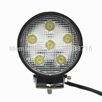 18w IP68 Single Led Work LED LED Driving Light For Off Road Vehicles With 2 Years