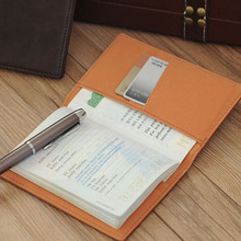 1pc the Cover of  the Passport Cover Casual Business Card Holder for Men