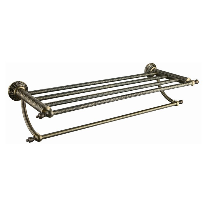 Free shiping Double Towel Racks,Towel Holder/Shelf,brass Construction,Antique Bronze finish,bathroom accessories AB008a стоимость