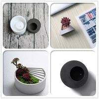 Small Concrete Molds For DIY Cement Planter Silicone Rubber Vase Moulds Custom Made Moulds