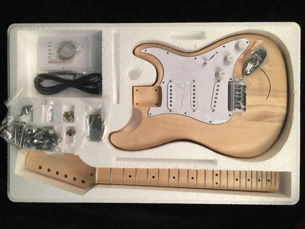 High quality Unfinished  DIY  electric guitar,Real photos,free shippingHigh quality Unfinished  DIY  electric guitar,Real photos,free shipping
