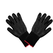 1 Pair Extreme Heat Resistant Oven BBQ Gloves For Cooking Grill Baking Microwave High-Temperature Anti-Hot Extended Long Cuff все цены