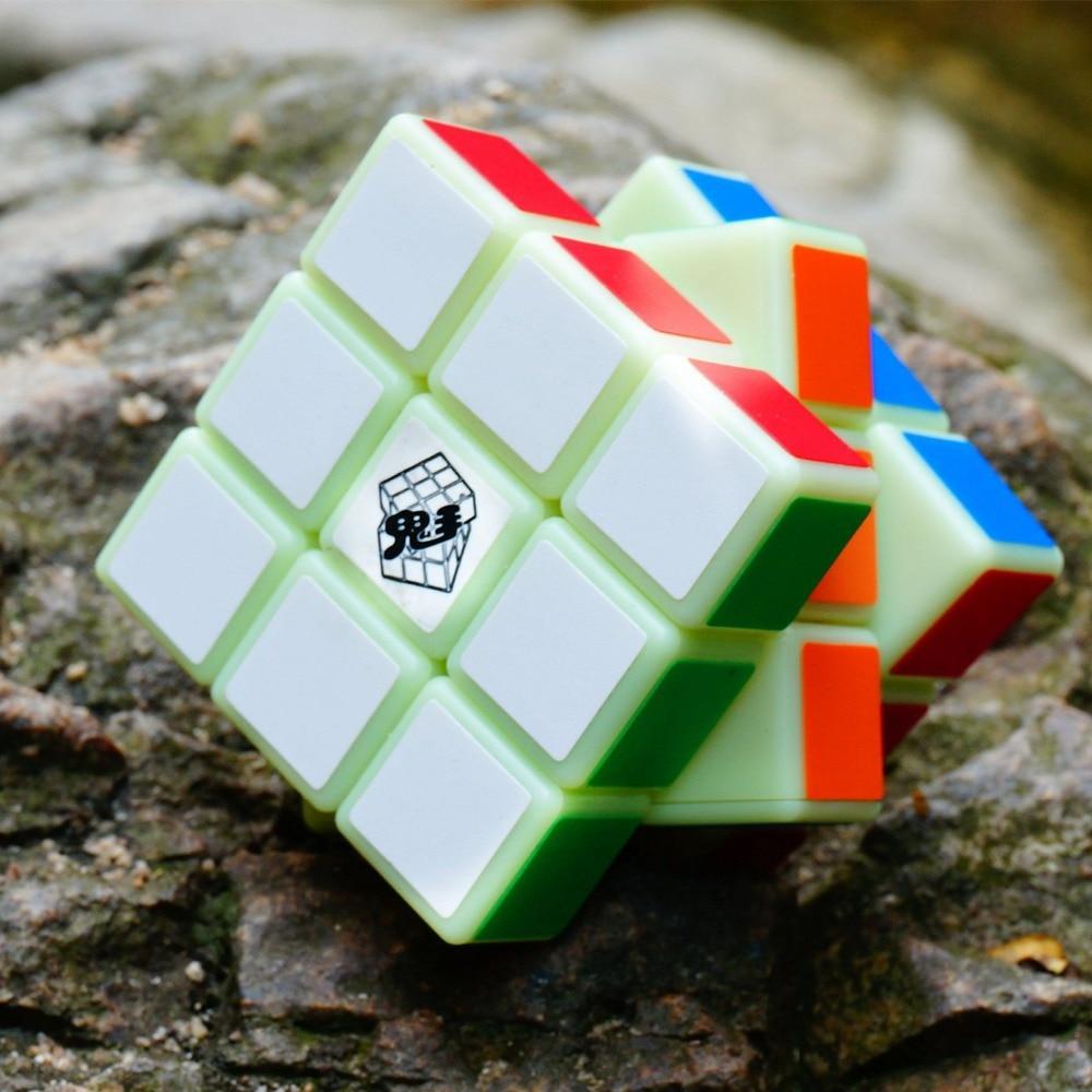 2018 Ny kommer magisk yoyo kube Noctilucent Magic Cube Professional 3 - Puslespill - Bilde 4