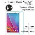 Honor T1-a21w Стекло-Экран Протектор Для Huawei Honor Примечание T1-A21W 9.6 дюймов tablet PC Закаленное Стекло защитные пленки
