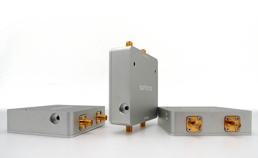 Genuines Sunhans 5.0-5.8GHz 1000mW 30dBm Dual Antenna IEEE 802.11a/n 2T2R 300Mbps MIMO WiFi Signal Booster Amplifier