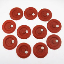 Scjyrxs 10 Pcs Pemisah Air Minyak Exhaust Valve Rubber Diaphragm Seal Gasket Cover untuk Passat Golf MK5 06H103495B 0311803A(China)