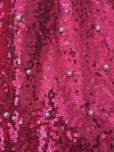 African beaded Lace red color, Sequin fabric ,Swiss voile lace in switzerland for Wedding Embroidery african 5y