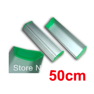 ФОТО Free shipping 1 pc 50cm (20inch) Screen Printing Aluminum Emulsion Scoop Coater Tools Materials
