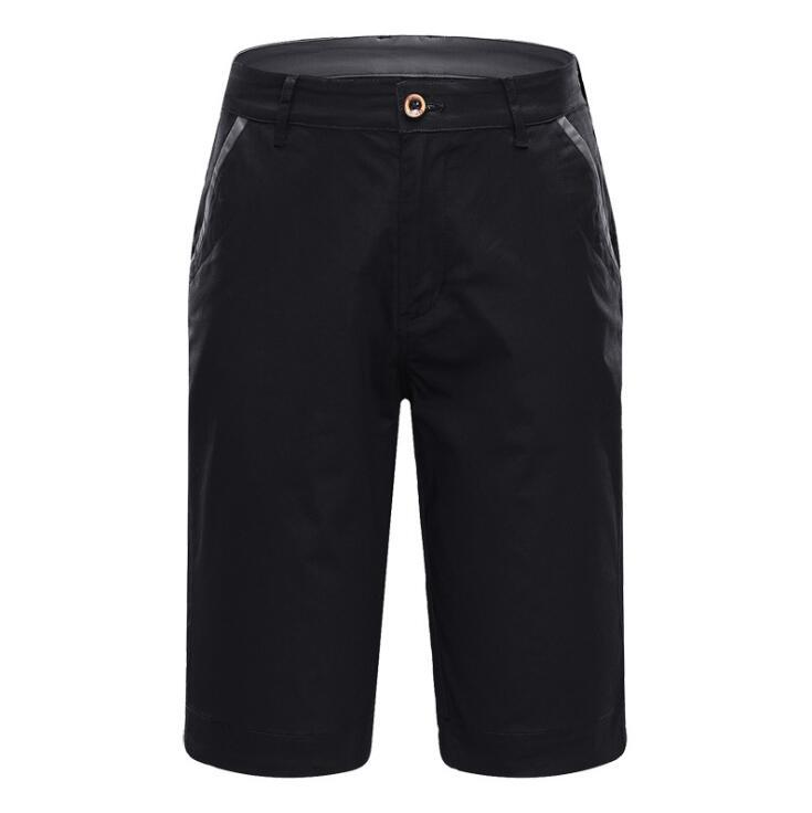 2019 nouveau short de golf solide de l'été sportswear de Golf coton respirant genou longueur shorts de sport taille 30-38