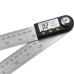 """Image 5 - 300 Mm 12 """"Digitale Hoek Heerser Finder Meter Gradenboog Inclinometer Goniometer Elektronische Hoek Gauge Roestvrij Staal"""