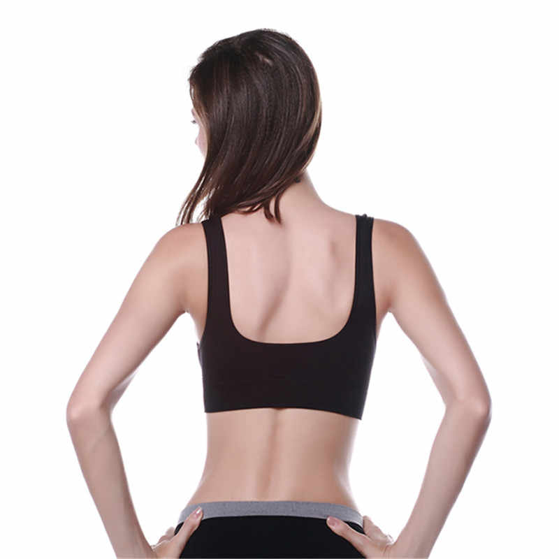 c182d0cab8 ... New Stylish Women Yoga Vest Seamless Fitness Sports Bra Tops Gym  Underwear Bras M L XL ...