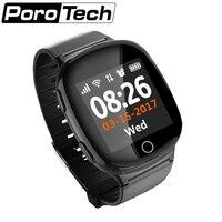 D100 10 шт. монитор сердечного ритма для людей пожилого возраста дети умные часы, будильник, функция