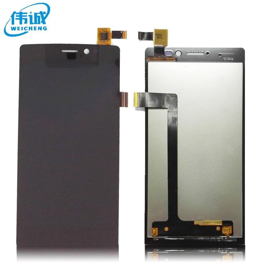 imágenes para Original probado Negro para Archos 50 diamond Pantalla LCD Y Montaje de la Pantalla Táctil + Herramientas + Negro