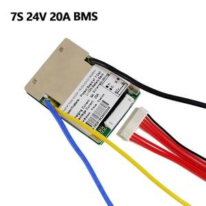 Image 3 - ליתיום BMS 7S 24V 15A, 20A ו 30A BMS עבור 24V ליתיום יון סוללה עם פונקצית איזון