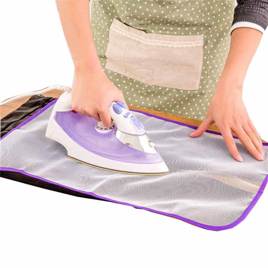 1x Tabla de planchar ropa Protector ropa de aislamiento almohadilla lavandería poliéster profesional hogar herramientas #0810