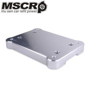 Image 2 - Aluminum Billet Shifter Base Plate For Honda K Series engine EG EK DC2 EF VR SBP01 For Civic Integra RSX K20 K24