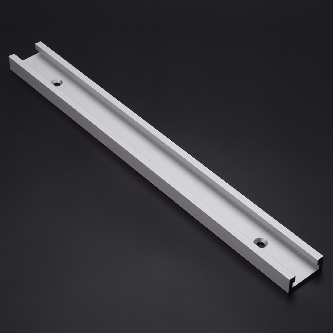 1pc 300mm Length T-track T-slot Aluminum Alloy Slot For Woodworking Router Table Saw 1pc 300mm length aluminum alloy t track router table saw woodworking t slot with anti corrosion