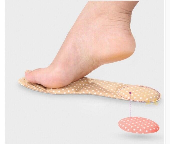 1 Paar Frauen Fußpflege Massage High Heels Schwamm Schuheinlagen Kissen Pads Diy Sport Fußgewölbe Orthesen Fußpflege-utensil
