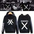 2016 stars goods Sweatshirts  MONSTA X Hoodie fleeces coat long sleeve Hoody