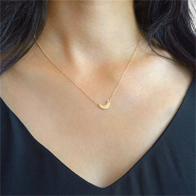 Moon necklace dainty necklace moon jewelry crescent moon necklace moon necklace dainty necklace moon jewelry crescent moon necklace moon pendant aloadofball Image collections