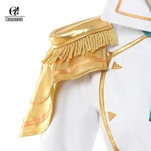 Image 4 - ROLECOS Disfraz de Battle Academia Lux para mujer, LoL Lux, Cosplay, Lux Prestige Edition, traje de mujer, falda de Halloween