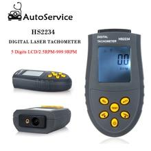 Mini Digital-Laser-Tachometer Nicht-kontaktieren Motor Motor Geschwindigkeit Meter Tester Messgerät LCD RPM Automatische Messgerät großhand