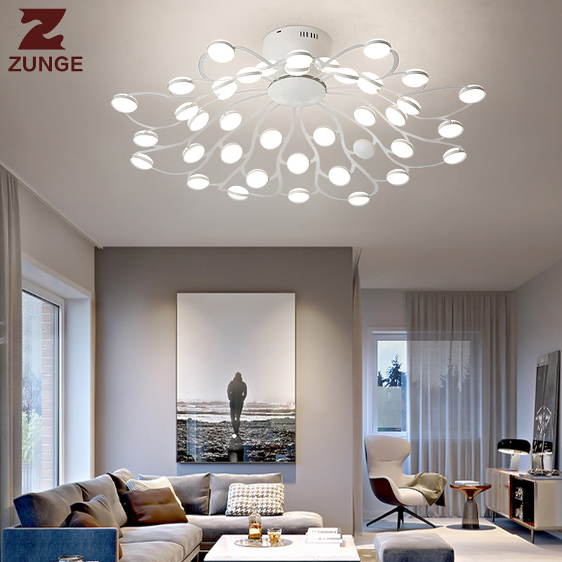 Stylish Living Room Lighting Ideas Meethue: Aliexpress.com : Buy ZUNGE LED Ceiling Light Living Room