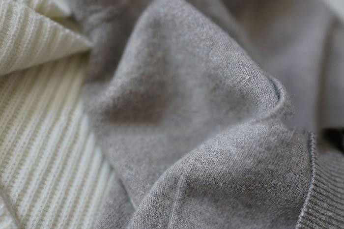 Suéter de lana de cachemir de primavera invierno suéteres de punto con capucha caliente señora de grado Up jerseys y jerseys con bolsillos
