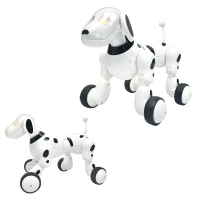Smart Dance Robot Dog Electronic Pet Toys With Music Light Voice Control Free Mode Sing Dance Smart Dog Cat Robot Dropshipping