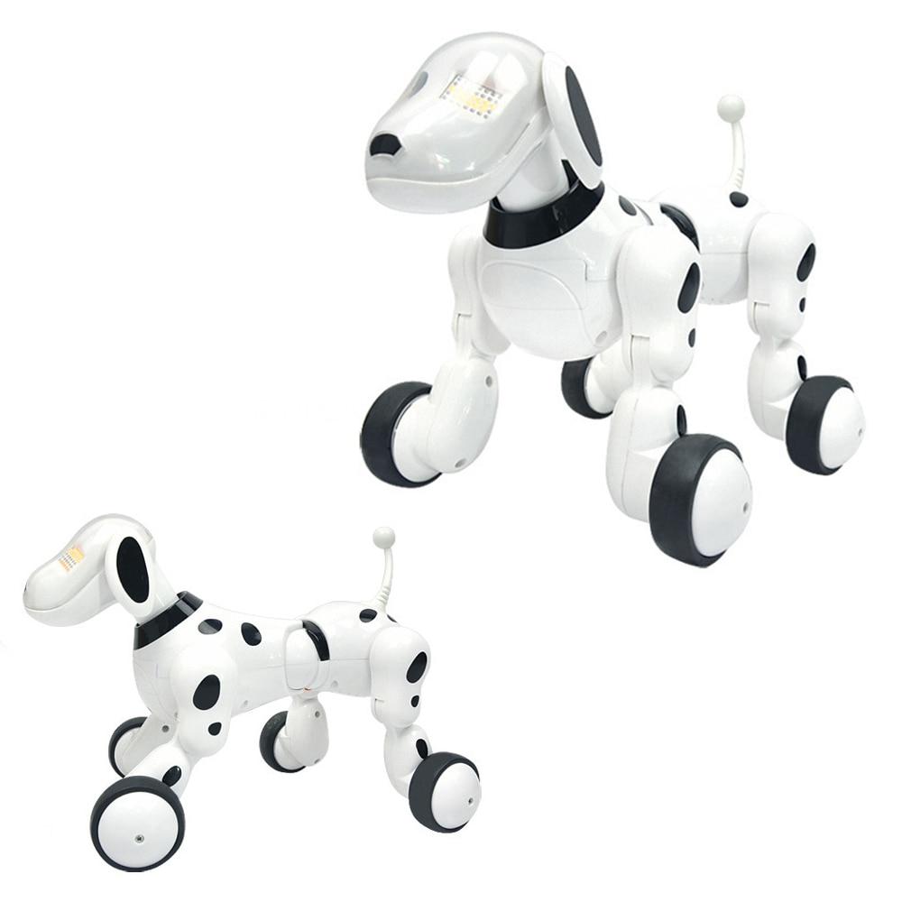 Smart De Danse Robot Chien Électronique Pet Jouets Avec Musique Light Voice Control Livraison Mode Chanter Danse Smart Chien Chat Robot dropshipping