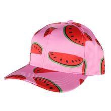 С принтом арбуза кепки для бега стиль для женщин мужчин Хип Хоп шляпа Пешие прогулки кепки унисекс Лето