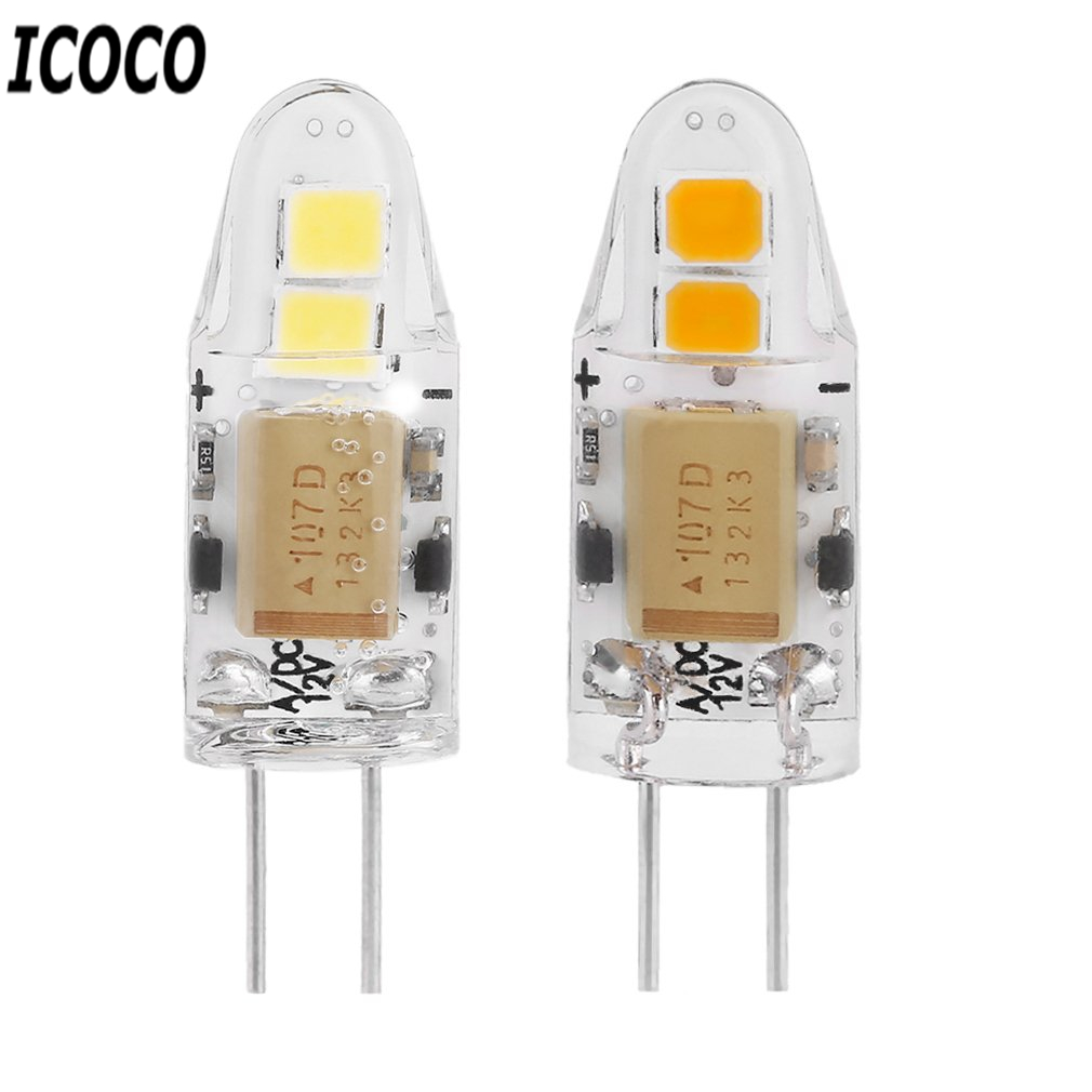 ICOCO G4 Mini None-Dimmable COB Lamp 2W/5W/7W AC/DC 12V LED Light 360 Beam Angle Chandelier Replace Halogen Lamps Wholesale